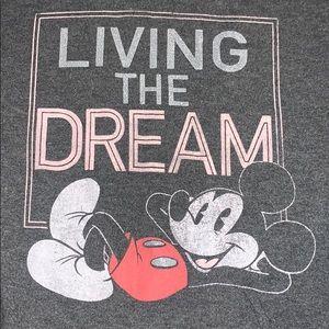 "Mickey ""Living the Dream"" sweatshirt"